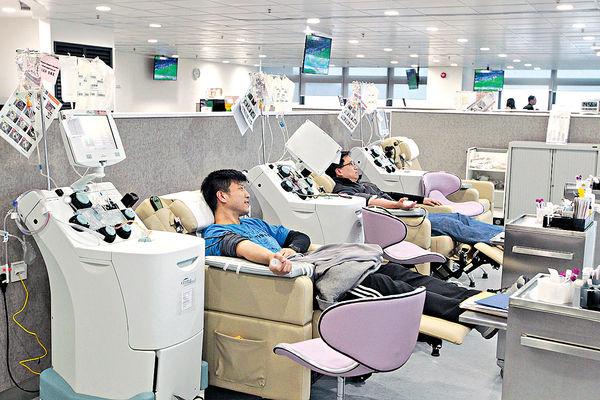 紅十字會血庫存量低 籲市民假期捐血