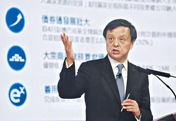 李小加提早於年底 退任港交所行政總裁