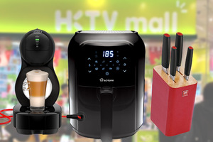 【廚具開倉2020】HKTVMall一個月感謝祭推廣優惠 41折氣炸鍋/$100加購咖啡機/集合13間商場過百名店