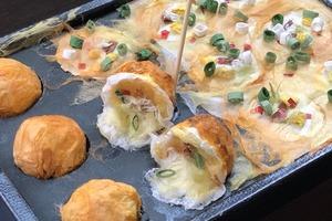日本伯伯用和紙製作食物模型 神還原章魚小丸子/燒肉/芝士蛋糕等多款料理