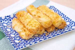 【氣炸鍋食譜】4步超簡易經典懷舊甜品  氣炸鍋黃金炸鮮奶食譜