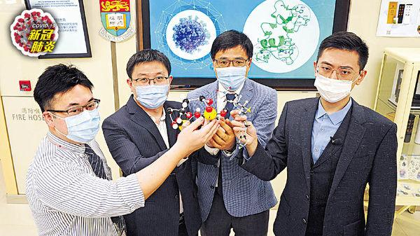 港大發現抗潰瘍藥 可抑制新冠病毒 比瑞德西韋更安全