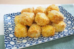 【氣炸鍋食譜】  氣炸鍋簡單3步就做到! 脆皮椒鹽豆腐