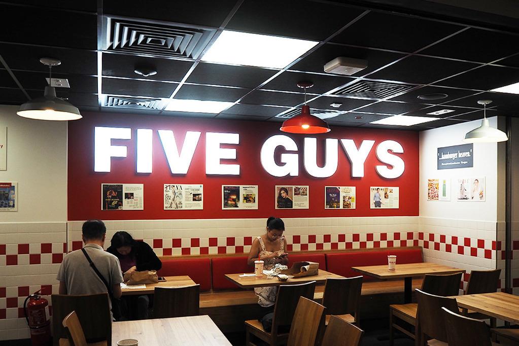 【觀塘美食】人氣漢堡店FIVE GUYS第5間分店?網上招聘擬於觀塘開新分店