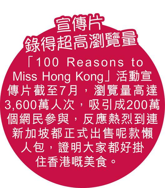 旅發局創意短片搞宣傳 讓世界遊客掛念香港