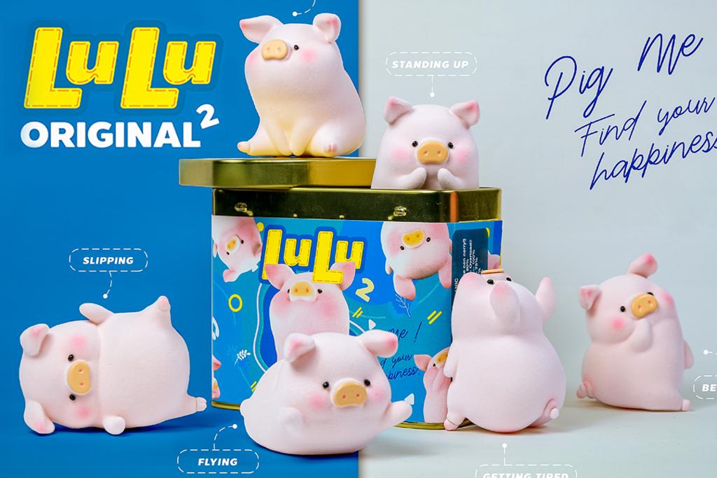 【Lulu豬 香港/罐頭豬公仔】罐頭豬豬Lulu經典系列第二代登場 罐裝限定方塊豬/6款全新可愛Lulu豬/隱藏版Lulu豬!
