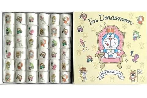 【日本手信】香港都買到!多啦A夢50週年推日本限定版零食   迷你版多啦A夢+可愛表情棉花糖