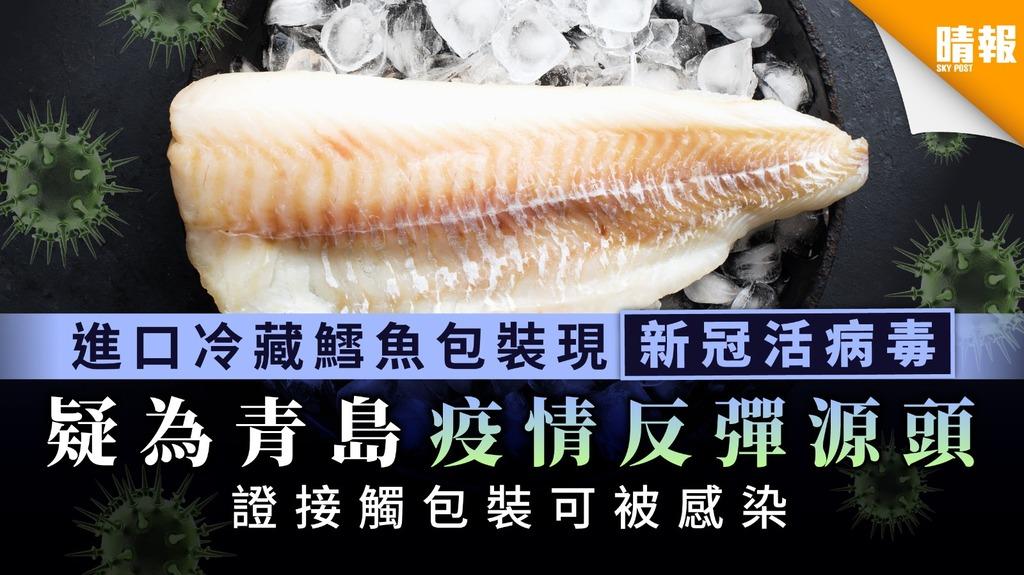 【新冠肺炎】內地進口冷藏鱈魚包裝現新冠活病毒 疑為青島疫情反彈源頭
