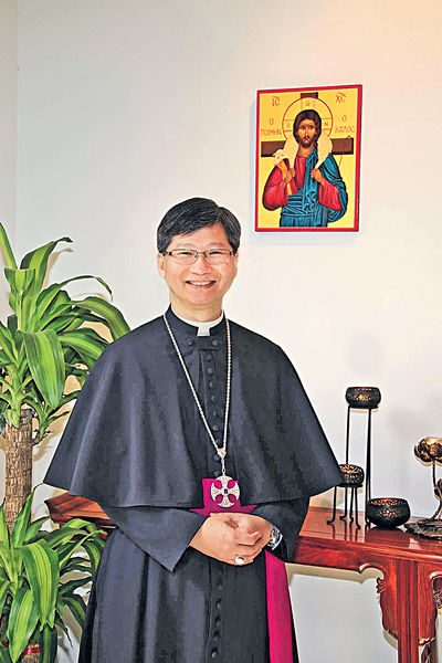 陳謳明當選港聖公會大主教 年底接替鄺保羅