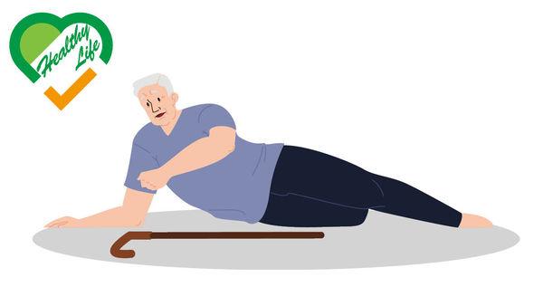 長者易跌斷髖骨 戴保護墊減風險