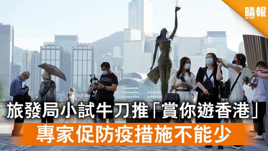 【本地遊】旅發局小試牛刀推「賞你遊香港」 專家促防疫措施不能少