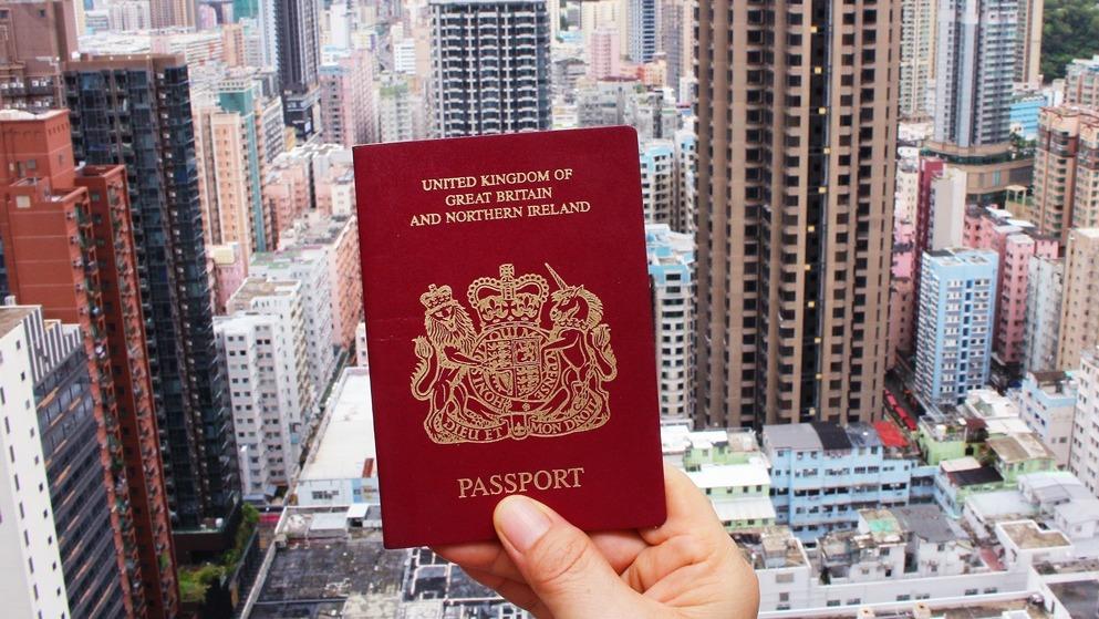 【BNO平權】英明年1.31起接受BNO申居留 首5年簽證費$2532