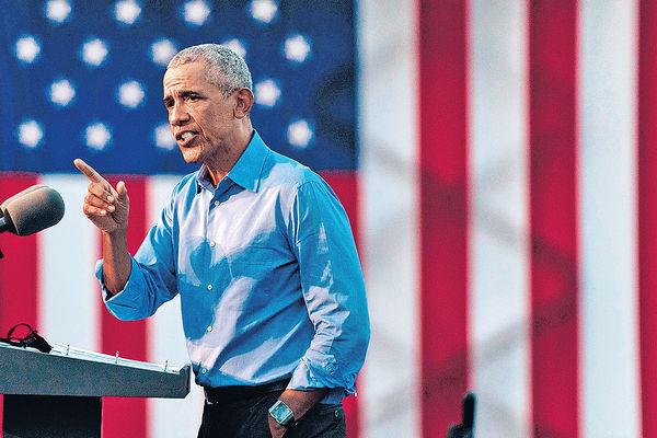 奧巴馬為拜登站台 最後辯論今舉行