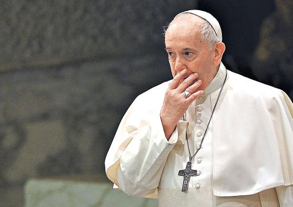 教宗首次表態 贊成同性伴侶民事結合