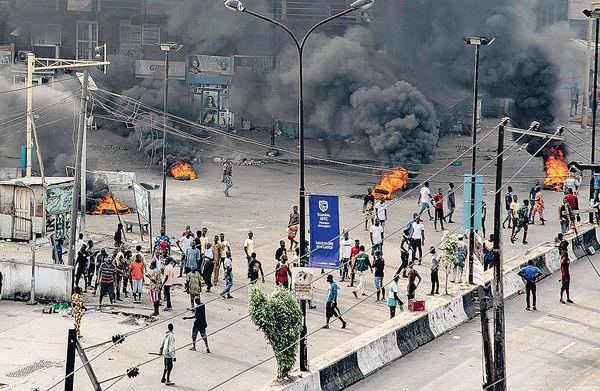 尼日利亞軍方鎮壓示威 傳釀12死