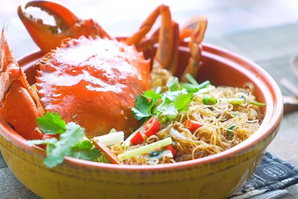 【海鮮食譜】秋季必食肥美大肉蟹! 5步自製鮮甜惹味粉絲蟹煲
