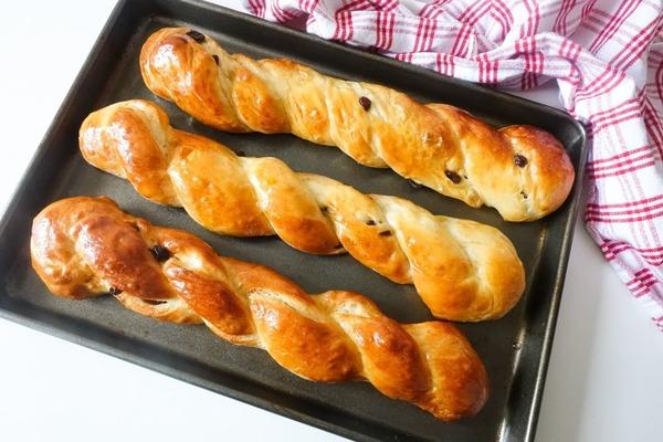 【麵包食譜】簡單5步自家製港式麵包 香甜鬆軟提子丹麥條