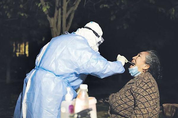 新疆增164隱形患者 專家指涉氣溫下降