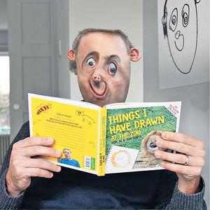 英國爸爸出版圖書 還原孩子視角圖像