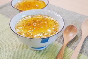 【鮮奶燉蛋白】3步零失敗秋天滋潤甜品  桂花鮮奶燉蛋白食譜