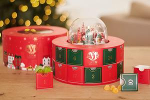 【聖誕禮物推薦2020】紅綠禮盒配水晶球設計!Lady M首個聖誕倒數月曆登場