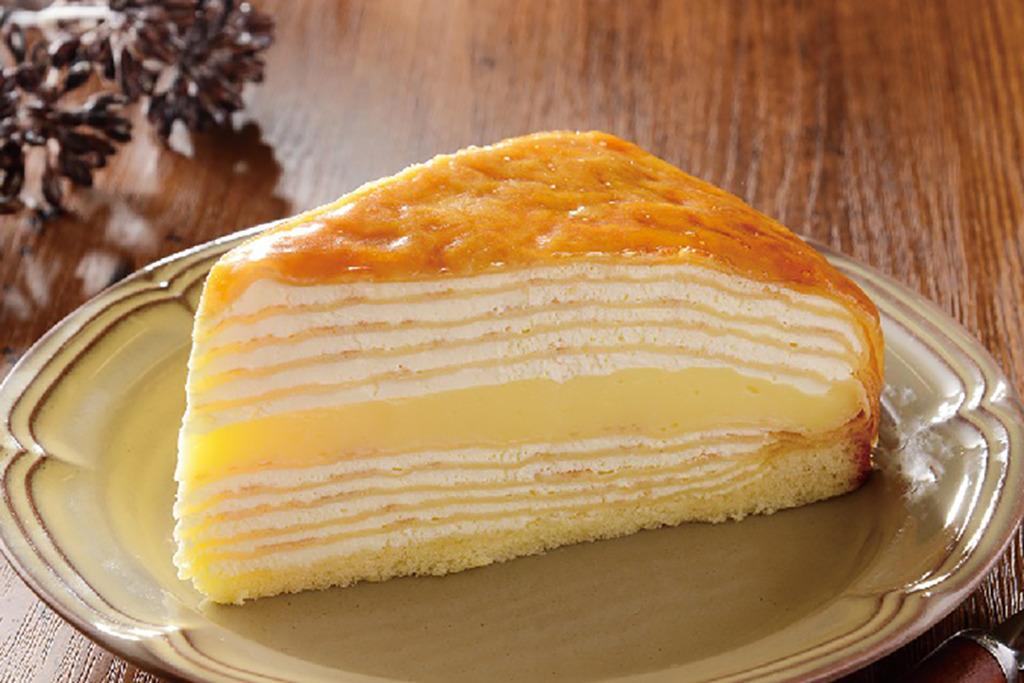 【日本LAWSON 2020】日本便利店焦糖布丁千層蛋糕 厚滑雞蛋布甸夾心+焦糖啫喱!