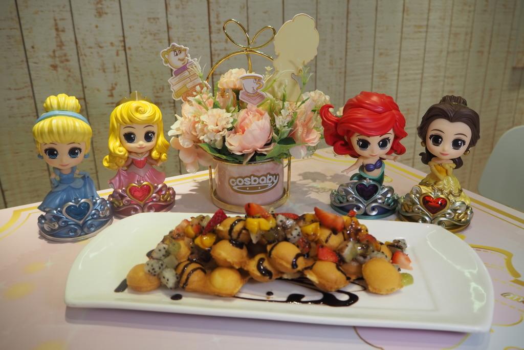 【太古美食】迪士尼公主登陸太古!公主主題Cafe/燈海鏡房/巨型光影玫瑰