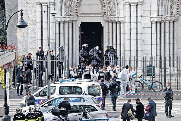 法尼斯教堂恐襲3死 一女遭斬首