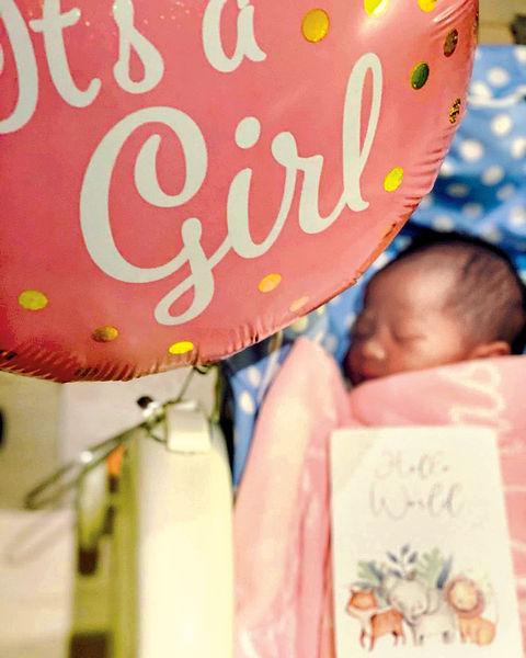Robynn 誕7.8磅女兒
