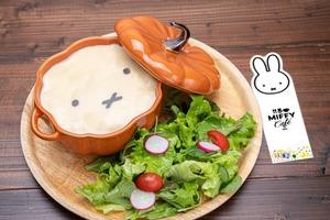 【Miffy Cafe】日本大阪新開限定Miffy主題打卡Cafe 超可愛造型棉花糖latte/甜品等餐飲