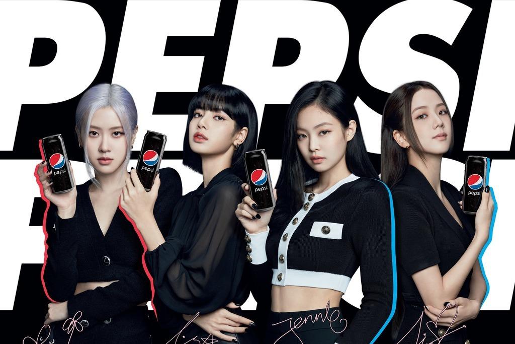 【百事可樂】百事可樂推出BLACKPINK代言全新口味產品!黑色型格無糖「Pepsi Black」