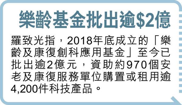 勞工處9月空缺升8成 羅致光:加強就業配對 解決安老業缺人