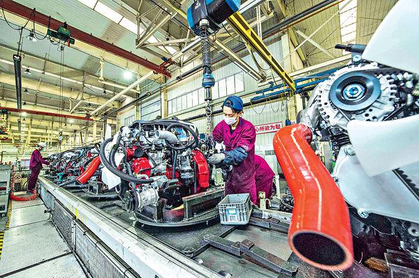 中國製造業PMI 微跌至51.4勝預期