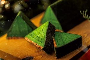 【日本甜品】日本祇園辻利推出聖誕限定甜品 超濃郁抹茶朱古力樹頭蛋糕