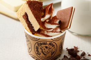 【日本甜品】日本Tokyo Milk Cheese Factory新出Tiramisu雪糕甜品杯 北海道芝士雪糕+咖啡提拉米蘇芝士蛋糕
