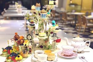 【荃灣下午茶】荃灣悅來酒店Panda Hotel愛麗絲主題下午茶  Alice/免子先生慕斯蛋糕/瘋帽子馬卡龍/三文魚子醬