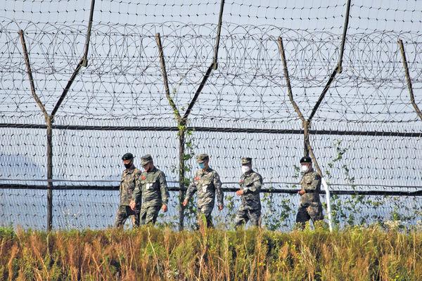 脫北者越境 被韓軍押走