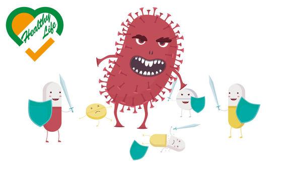 抗風濕藥「支援」抗生素 打超級細菌更有效