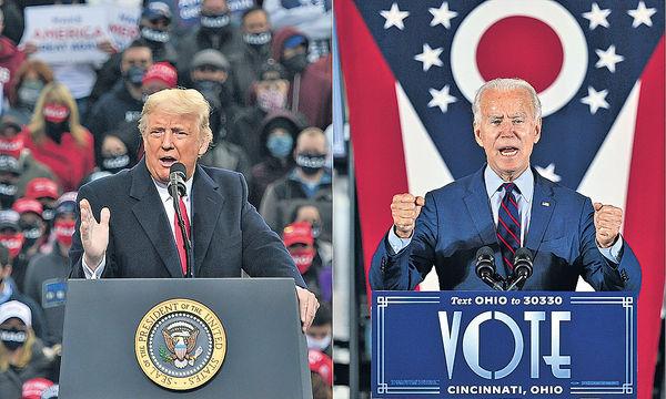 美國選戰的劇本