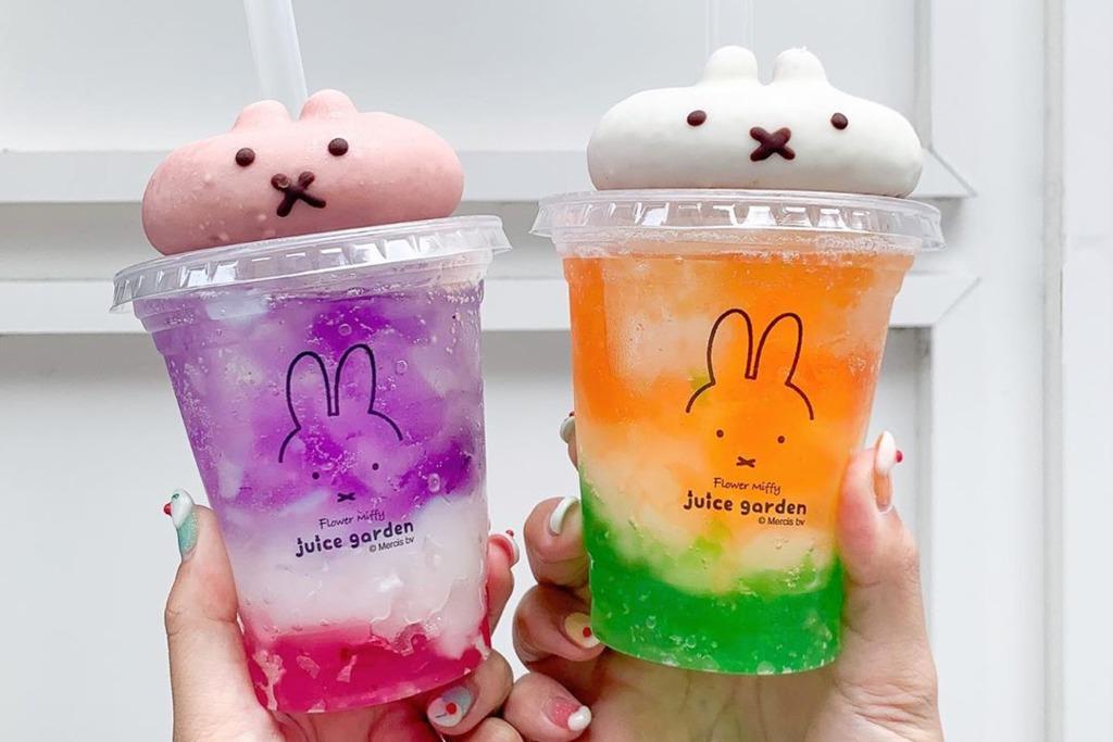 【Miffy Cafe】日本東京淺草Miffy花屋推飲品店 超可愛miffy造型冬甩配打卡飲品
