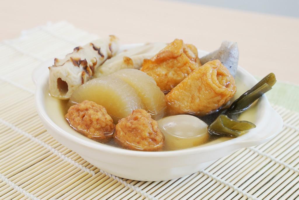 【關東煮懶人包】試食超市日本直送關東煮懶人包!有齊7款食材/配有超鮮甜鰹魚湯