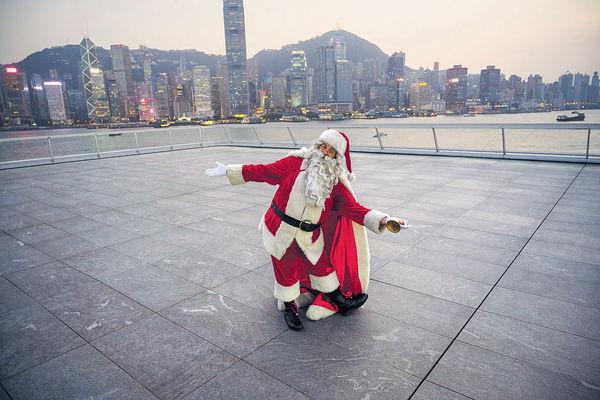 海港城聖誕裝置轉場 慶節唔使逼 首移師「海運觀點」佔地8000呎