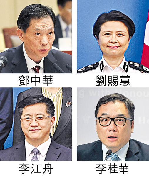 美再制裁4中港官員 中方強烈譴責