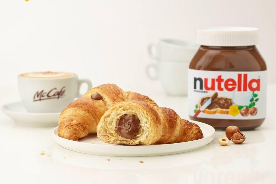 【麥當勞新品】意大利麥當勞聯乘Nutella推出新品 超吸引夾心榛子醬牛角包/鬆餅漢堡