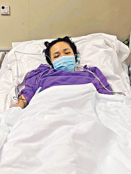 城大女生急性肝衰竭 急需捐肝續命