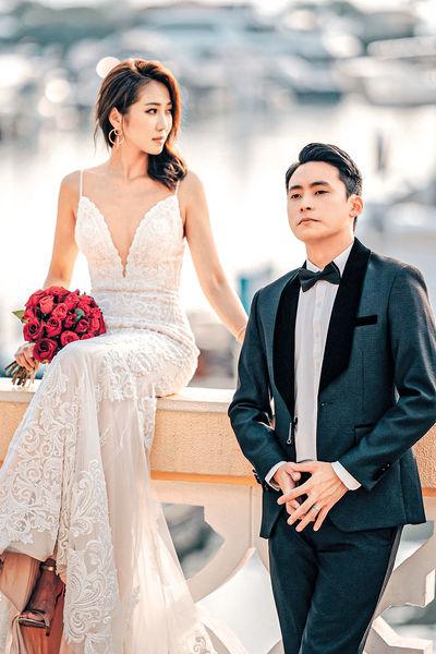 夫妻檔拍婚紗廣告 Jessica@SG笑老公肥咗唔肯減