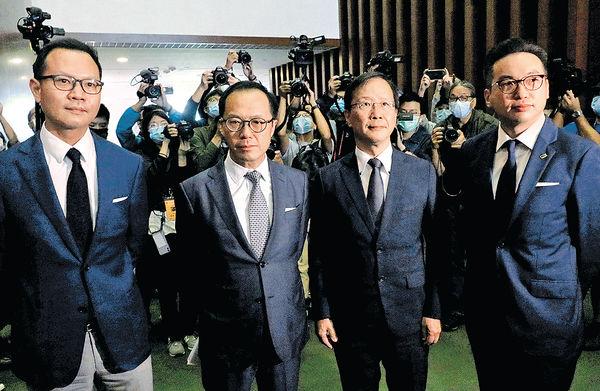 4立會議員被DQ 梁君彥︰處理薪津將考慮法理情