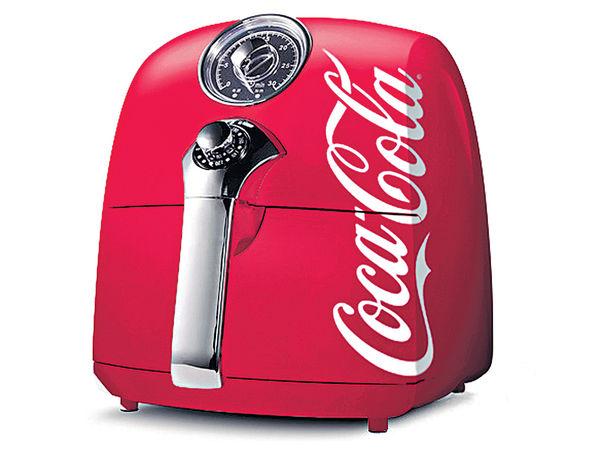 可口可樂聖誕驚喜 送限量版氣炸鍋
