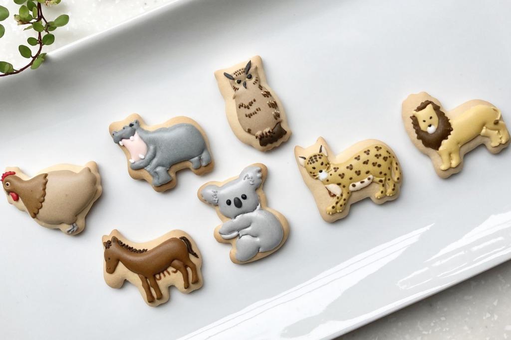 日本達人為愉快動物餅畫圖填色 用彩色糖霜上色/畫功超精細!