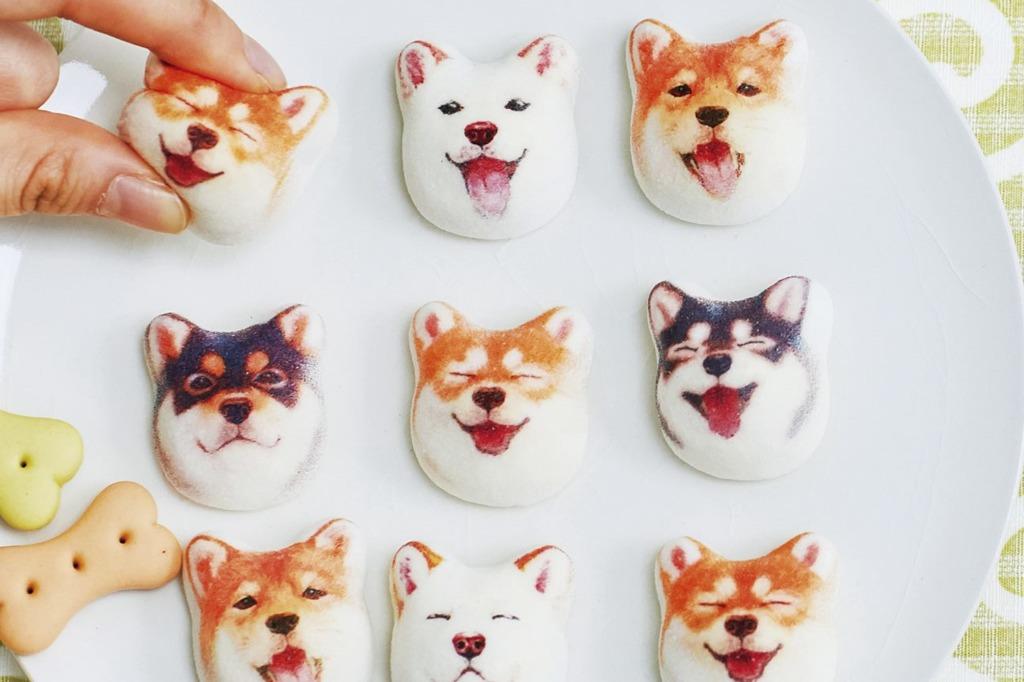 【日本雜貨】日本雜貨全新仿真狗狗精品  超像真可愛柴犬棉花糖